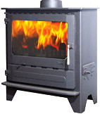 Square Glass Stove
