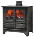 highlander 8 stove central heating